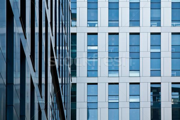 Arquitetura moderna prédio comercial banco financeiro escritório torre Foto stock © pab_map