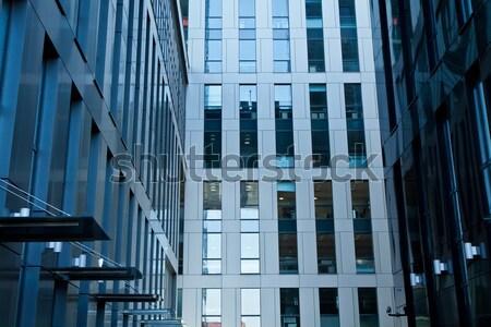 Modern építészet irodaház bank pénzügyi iroda torony Stock fotó © pab_map