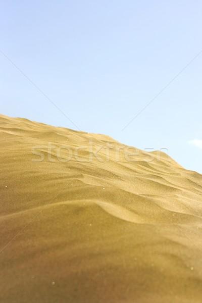 пустыне фото текстуры время расслабиться Сток-фото © pablocalvog