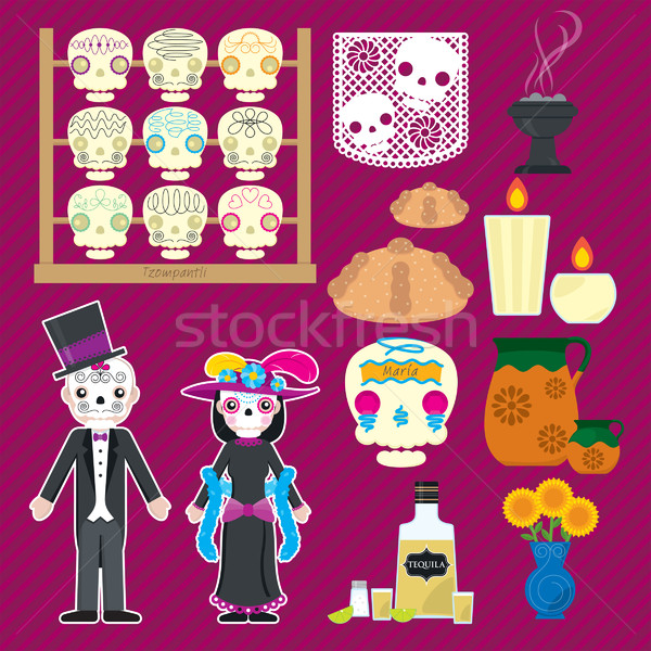 Dia de muertos Stock photo © padrinan
