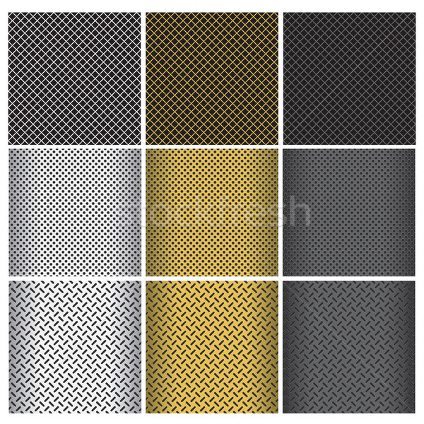 metal grills Stock photo © padrinan