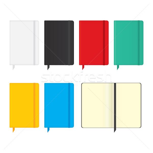 moleskine notebooks Stock photo © padrinan