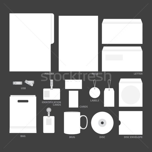 blank templates Stock photo © padrinan