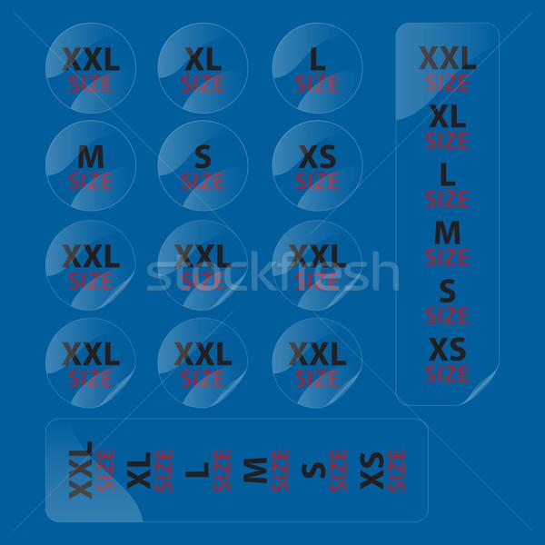 cloth stickers Stock photo © padrinan