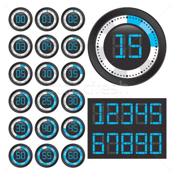 Black chronometers. Stock photo © padrinan
