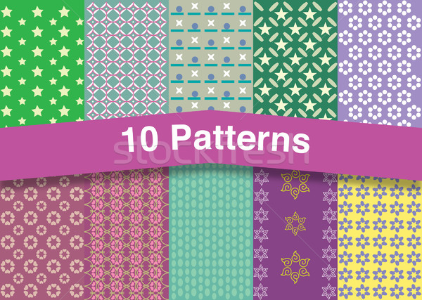 Chic patterns Stock photo © padrinan