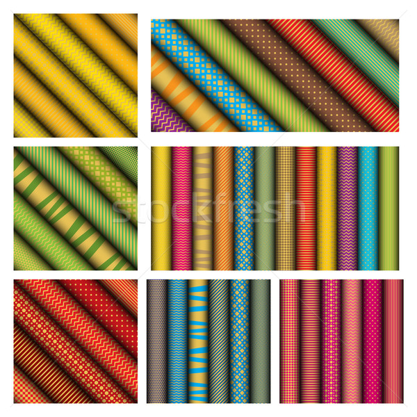 rolled paper textures Stock photo © padrinan