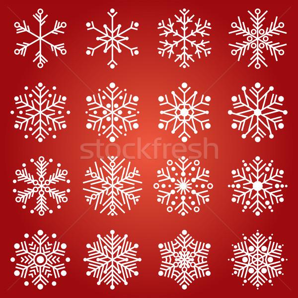 Snowflakes Stock photo © padrinan