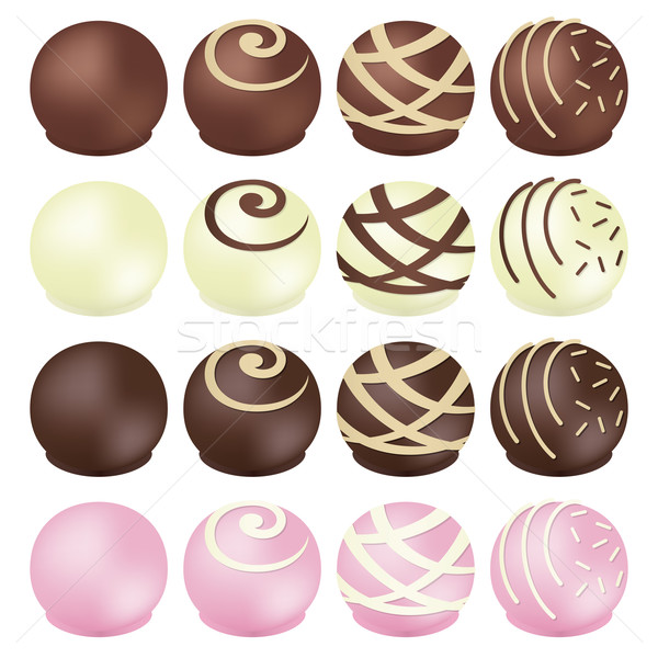 chocolates Stock photo © padrinan