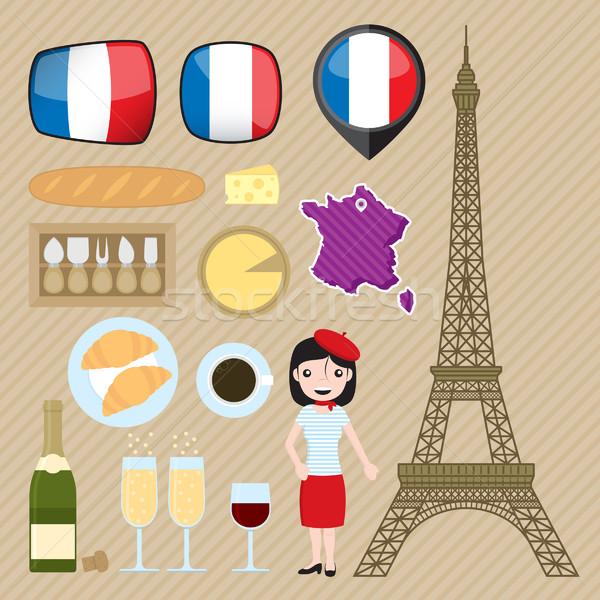 France Stock photo © padrinan