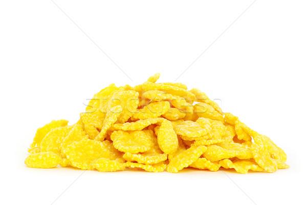 corn flakes  Stock photo © Pakhnyushchyy