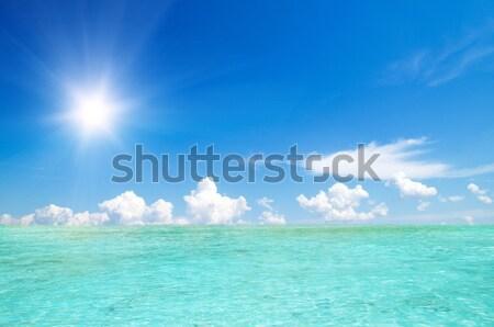 морем красивой пляж тропические лет океана Сток-фото © Pakhnyushchyy
