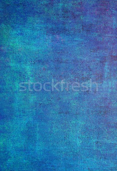 Kék retro mintázott papír absztrakt terv Stock fotó © Pakhnyushchyy