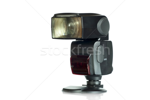Stock photo: camera flash