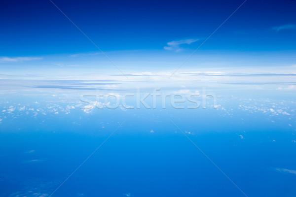 Cielo nubi blu skyline colore Foto d'archivio © Pakhnyushchyy