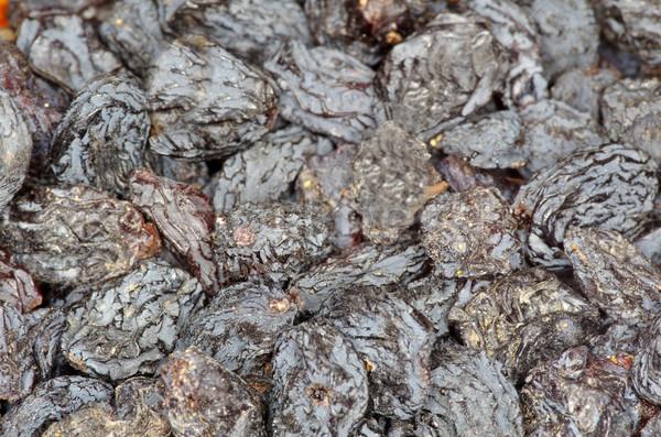 Mazsola közelkép sötét barna étel egészség Stock fotó © Pakhnyushchyy