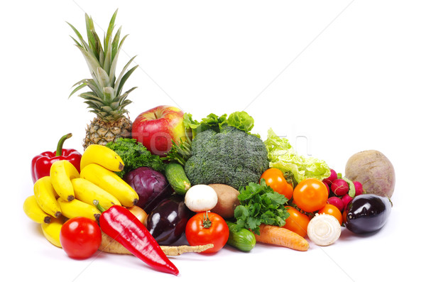 vegetables and fruits  Stock photo © Pakhnyushchyy