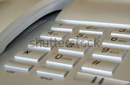 Keyboard telephone Stock photo © Pakhnyushchyy