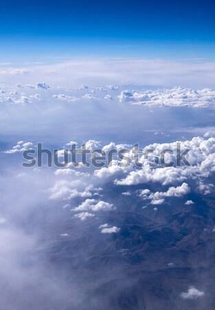 антенна небе облака красоту пространстве Skyline Сток-фото © Pakhnyushchyy