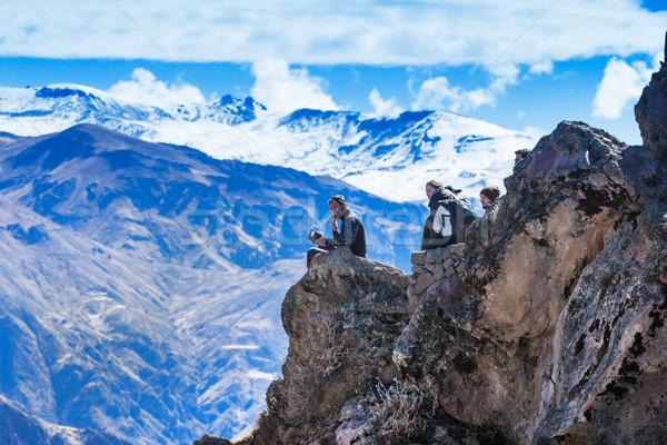landscape Peru Stock photo © Pakhnyushchyy