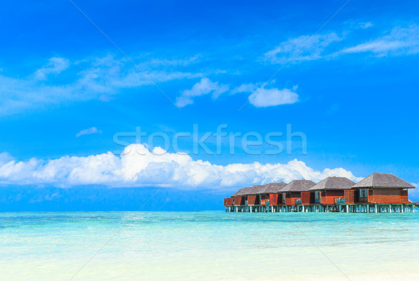 beach with Maldives Stock photo © Pakhnyushchyy