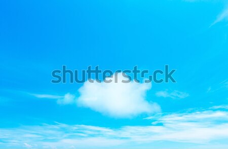 clouds in the blue sky Stock photo © Pakhnyushchyy
