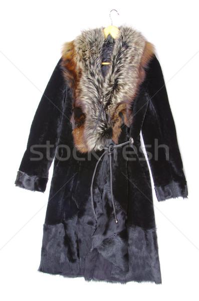 fur coat Stock photo © Pakhnyushchyy