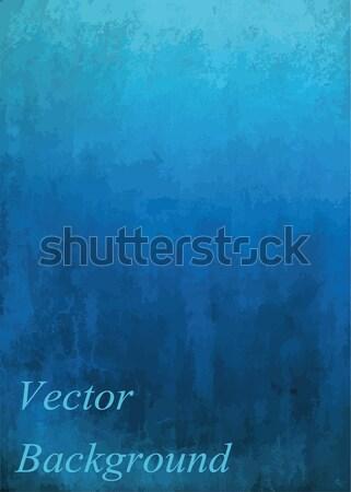 Azul retro papel abstrato projeto Foto stock © Pakhnyushchyy