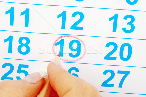 calendar Stock photo © Pakhnyushchyy