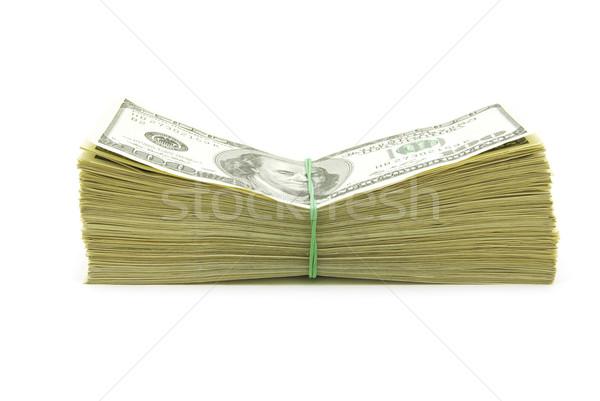 Pénz izolált fehér piac hazárdjáték tárgyak Stock fotó © Pakhnyushchyy