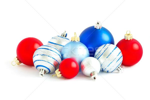 christmas balls  Stock photo © Pakhnyushchyy