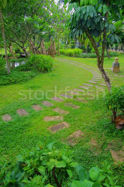 garden  Stock photo © Pakhnyushchyy