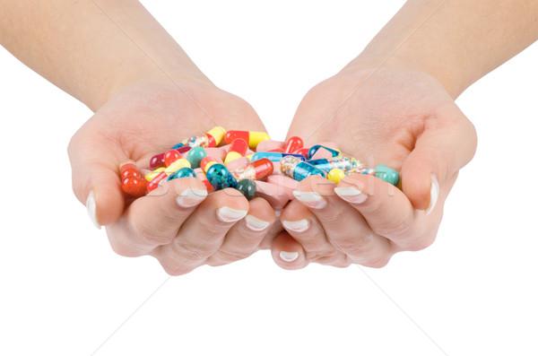 pills Stock photo © Pakhnyushchyy
