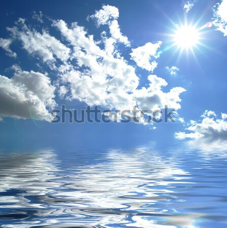 sunny sky Stock photo © Pakhnyushchyy