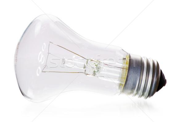Lamp elektrische witte lamp macht elektriciteit Stockfoto © Pakhnyushchyy