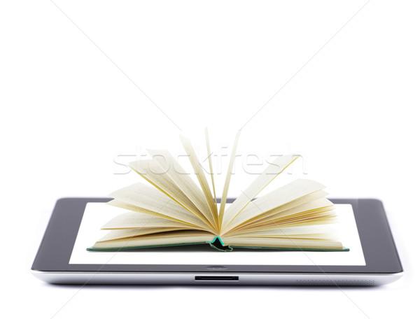 タッチスクリーン 画面 孤立した 白 コンピュータ ストックフォト © Pakhnyushchyy