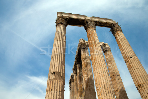 Temple of Olympian Zeus  Stock photo © Pakhnyushchyy