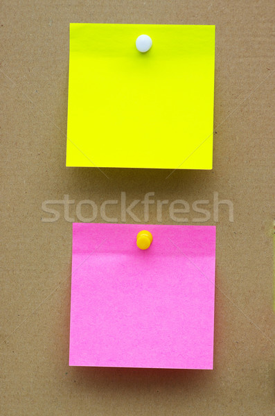 Levélpapír barna iroda háttér ír posta Stock fotó © Pakhnyushchyy