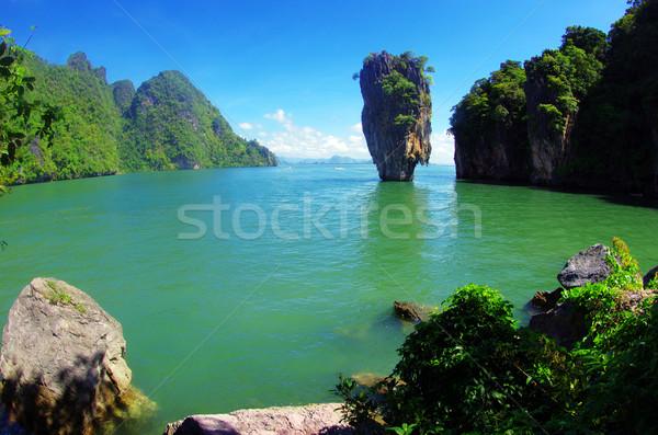 island in thailand Stock photo © Pakhnyushchyy