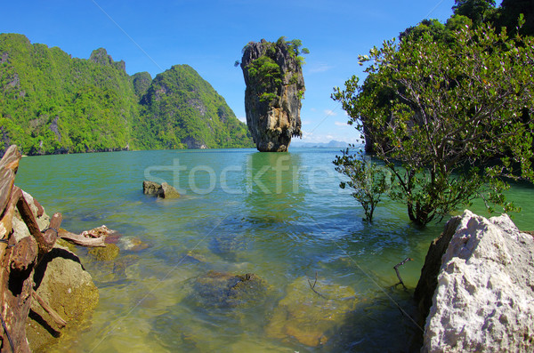 Island, Phang Nga, Thailand Stock photo © Pakhnyushchyy