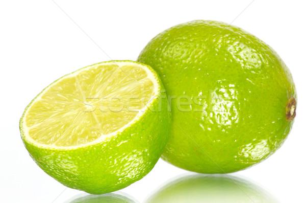 Citrus friss érett izolált fehér étel Stock fotó © Pakhnyushchyy