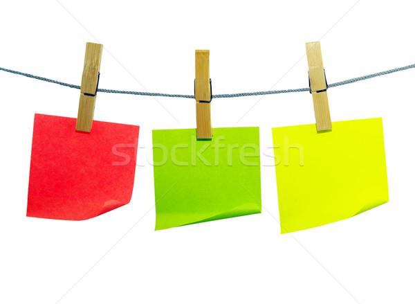note paper blanks Stock photo © Pakhnyushchyy