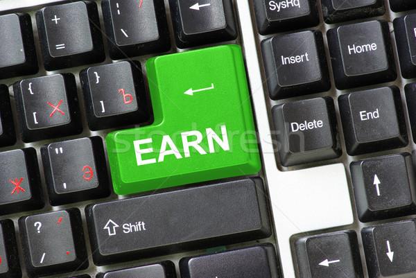 earn  Stock photo © Pakhnyushchyy