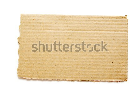 piece of cardboard  Stock photo © Pakhnyushchyy