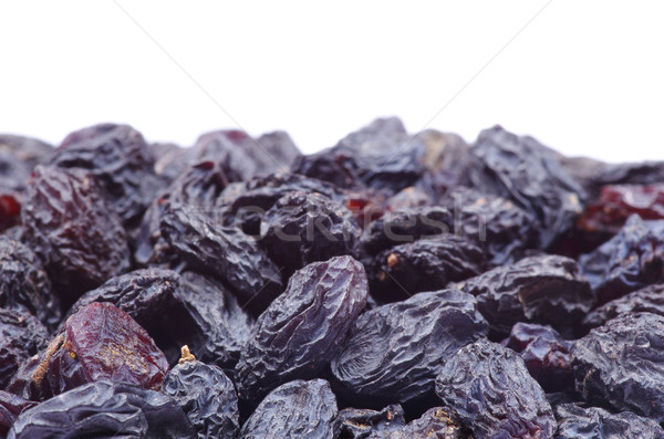 Mazsola izolált fehér étel egészség fekete Stock fotó © Pakhnyushchyy