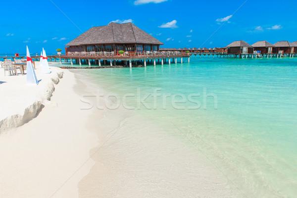 Spiaggia acqua cielo natura mare estate Foto d'archivio © Pakhnyushchyy