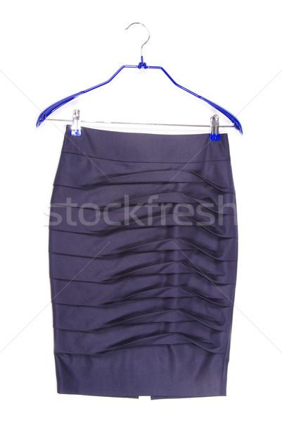 スカート 孤立した 白 女性 ファッション デザイン ストックフォト © Pakhnyushchyy