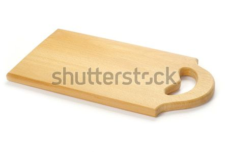 wooden chopping board Stock photo © Pakhnyushchyy