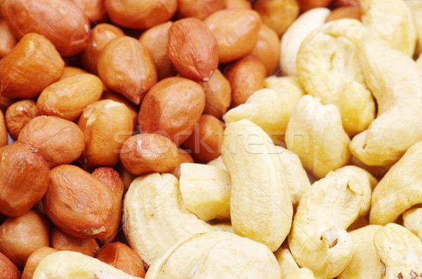 peanut and cashew Stock photo © Pakhnyushchyy