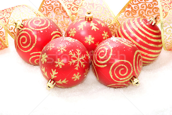 クリスマス 孤立した 白 背景 冬 ストックフォト © Pakhnyushchyy